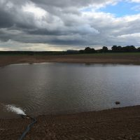 Construction of new irrigation reservoir