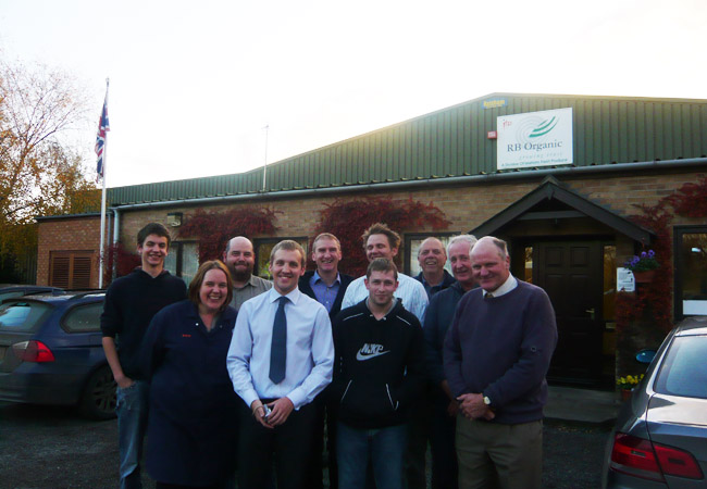 Team trip to the RB Organic Packhouse, Cambridgeshire November 2008
