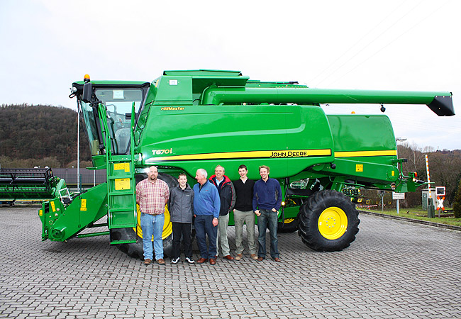 Team trip to John Deere factory, Germany December 2009