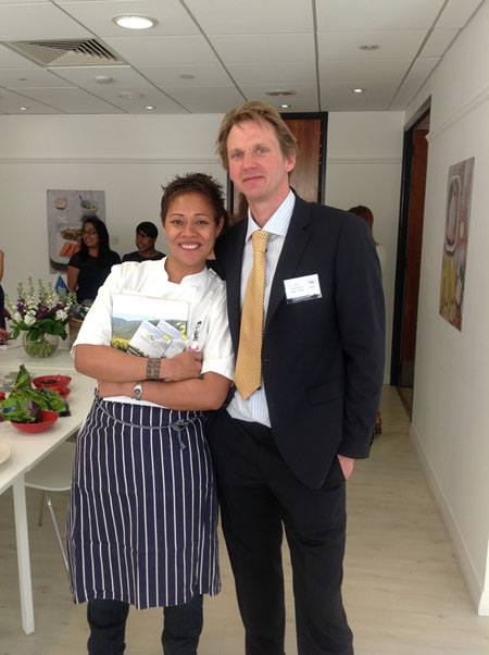 Nick Taylor attended an event hosted at London's Good Housekeeping Institute by Organic UK